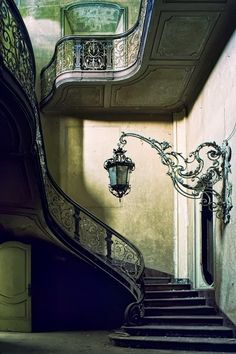 Ornate staircase #staircase #lubbock #realestate www.getrichinlubbock.com