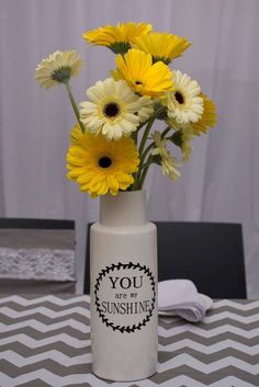 You are my sunshine baby shower party! See more party ideas at CatchMyParty.com!