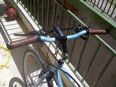 How to Make Your Own DIY Leather Bicycle Grips (with Waste Materials) : 6 Steps (with Pictures) - Instructables Make Your Own, Make It Yourself, How To Make, Leather Bicycle, Dremel, Leather Working, Hacks, Bike, Easy
