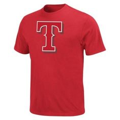 more photos f7a14 3c3bf Men s mlb shirt- texas rangers athletic