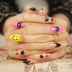 Aliexpress.com : Buy Carved false nail short design child finger nail art patch from Reliable artful soul suppliers on ZYZ Posh Boutique.