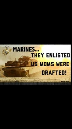 Proud Mom of a United States Marine. I have the easier of the hardest two jobs.