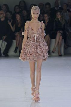Alexander McQueen at Paris Fashion  Week Spring 2012