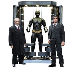 Batman Armory with Bruce Wayne and Alfred Sixth Scale Figure Set