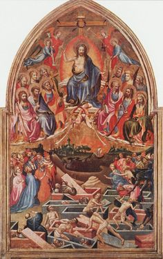 The Last Judgment, by the Master of the Bambino Vispo, c. 1422