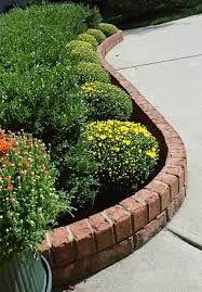 Image result for garden brick edging