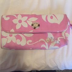 Roxy bag Pink floral Roxy bag Roxy Bags Clutches & Wristlets
