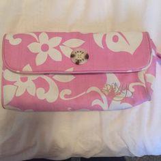 Roxy bag Pink floral Roxy bag Roxy Bags Clutches & Wristlets