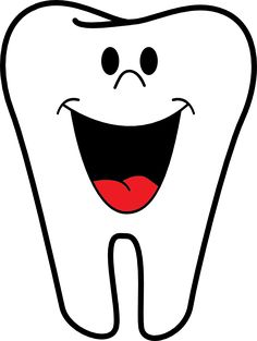 dental tooth bug picture | smiling tooth clip art