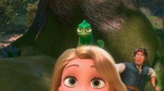 Day Favorite Disney sidekick Pascal from Tangled is one of my favorites! He's willing to help Rapunzel as much as possible! Disney Pixar, Film Disney, Disney Animation, Disney And Dreamworks, Disney Art, Disney Movies, Disney Characters, Tangled Rapunzel, Disney Tangled