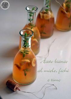 Aceto bianco buonissimo, aromatico e adatto a piccoli pensieri natalizi home made!
