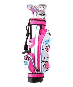 Look at this Six-Piece Hello Kitty Go! Golf Set on #zulily today!