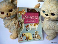Ana Caldatto : Antigo brinquedos cachorrinho Serelepe, Gatinho Frou Frou e Coelho Dom Pascoal