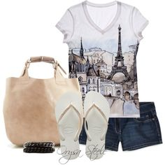 La Belle Eiffel, created by orysa on Polyvore