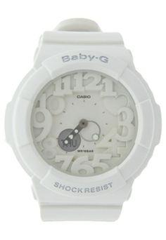 b7b9323d9cb Relógio Baby-G BGA-131-7BDR Branco - Compre Agora