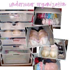 Organized bras!