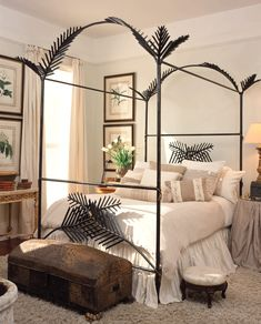Official Tara Shaw | EUROPEAN TREASURES Traditional Interior, Classic Interior, Four Poster Bed, Headboards For Beds, Bedroom Styles, Bedroom Decor, Interior Design, Furniture, Canopy