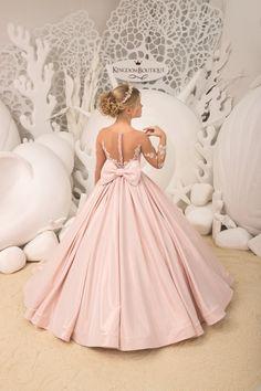 Blush pink Flower Girl Dress Birthday Wedding party | Etsy Cute Flower Girl Dresses, Lace Flower Girls, Little Girl Dresses, Flower Girl Gown, Girls Pageant Dresses, Gowns For Girls, Prom Dresses, Kids Gown, Burgundy Wedding