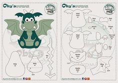 Oby's Handmade: Il draghetto