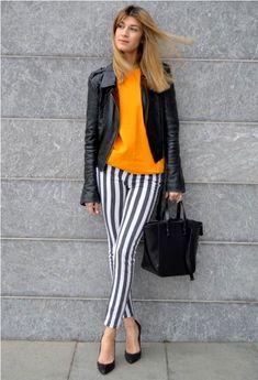 Las Mejores 97 Ideas De Pantalon Rayas Pantalon Rayas Ropa Moda