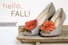 Or for any season, add flower to match your wedding.