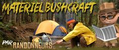 materiel bushcraft couteau pour survie en foret nature