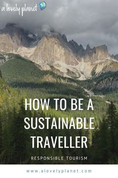 A guide to responsible tourism and sustainable travel. Discover how to travel with less impact, reduce your greenhouse gas emissions and plastic waste and help the destinations you visit. Travel Advice, Travel Guides, Travel Tips, Sustainable Tourism, Sustainable Living, Camping 101, Responsible Travel, Plastic Waste, Hot Spots