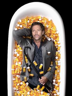 30 Sarcastic And Hilarious Dr House Quotes - Part 8 Gregory House, Hugh Laurie, Dr House Quotes, House And Wilson, Everybody Lies, House Funny, House Jokes, Detective Series, Medical Drama