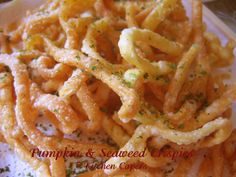 Kitchen Capers :: View topic - Pumpkin n Seaweed Crispies(rec n pic)