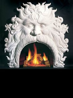 Northern Stoneworks cast stone fireplaces, stone cast fireplace mantels, mantel surrounds