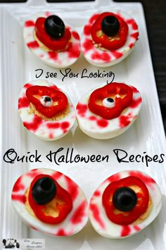 Halloween recipe ideas that kids can create. This is so fun and easy.