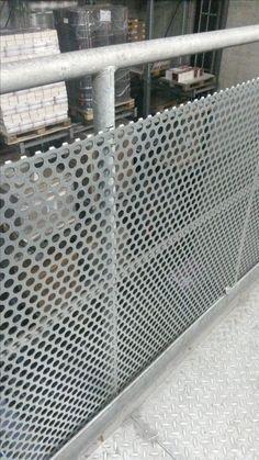 Balustrade,perforated metal
