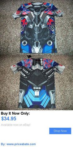 Men Athletics: Under Armour Transformers Optimus Prime New Nwt Mens Compression Shirt Large Xl BUY IT NOW ONLY: $34.95 #priceabateMenAthletics OR #priceabate