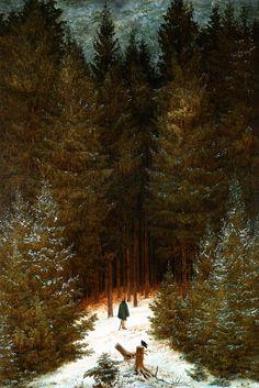 Caspar David Friedrich - Der Jäger im Walde 1814