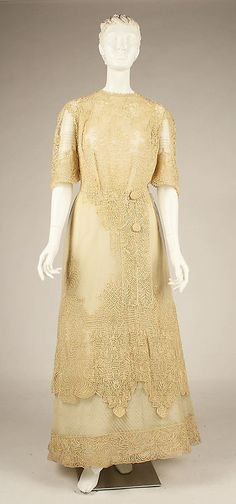 Dress 1909 The Metropolitan Museum of Art