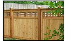 Wood Fencing Company NJ, Decorative Privacy Picket Stockade Fence