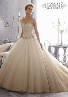 Wedding Dresses | Ball Gown : Mori Lee by Madeline Gardner Fall 2014 Part 2 | bellethemagazine.com