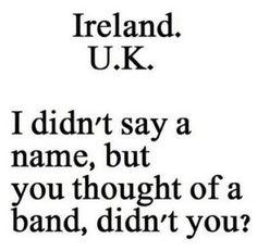 Ireland is in the u.k......