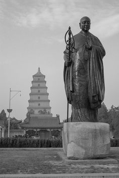 Xuanzang, ready for a Journey to the West @Xi'an