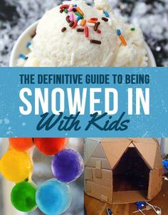 These power-outage-proof snow day activities (like treasure hunts, ice ornaments, blanket forts, and activity jars) will keep any kid entertained for hours! #snowday #snowdaycrafts #activities #snowedin #creativethinking