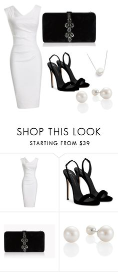 """""""Untitled #30"""" by lejlasehic ❤ liked on Polyvore featuring Giuseppe Zanotti, Dsquared2 and Chan Luu"""