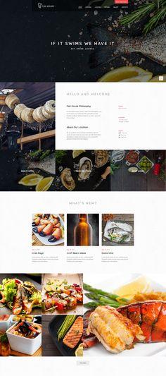 #Fish House   #Seafood #Restaurant / Cafe / Bar #WordPress Theme