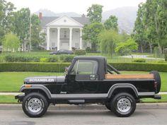 CJ8 Scrambler Jeep Brute, Cj Jeep, Jeep Mods, Old Pickup Trucks, Jeep Pickup, Vintage Jeep, Vintage Cars, Jeep Scrambler, American Motors