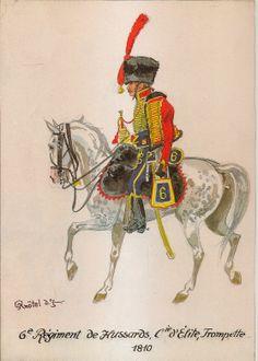 Tromba della compagnia di élite del 6 rgt. Ussari
