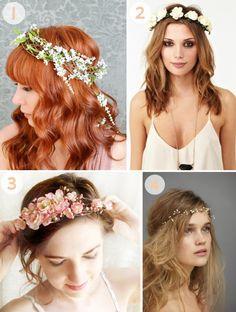 floral crown inspiration