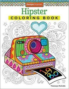 Hipster Coloring Book (Design Originals): Thaneeya McArdle: 0023863054997: Amazon.com: Books