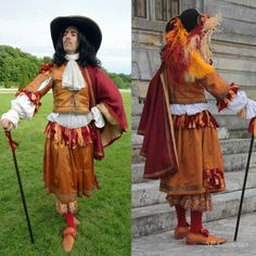 Pourpoint et rhingrave 1660 - Journée Grand Siècle