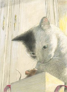 Cats in Art and Illustration: Image Chat, Cat Drawing, Children's Book Illustration, Crazy Cats, Cat Art, Cats And Kittens, Cute Cats, Illustrators, Cat Lovers