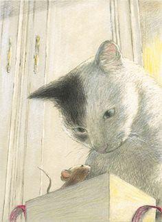 ilustración de Chiaki Okada
