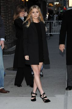 Ashley Olsen. I love the shoes, the outfit... everything!!!!